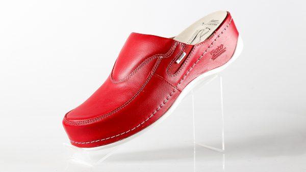 Batz FC10 – ženske klompe crvene boje - boćno