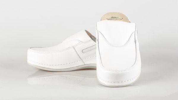 Batz FC10 – ženske klompe bijele boje – VV obuća trgovina - dvije klompe