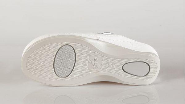 Batz FC10 – ženske klompe bijele boje – VV obuća trgovina - džon