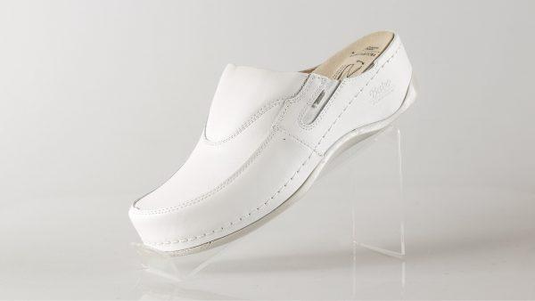 Batz FC10 – ženske klompe bijele boje – VV obuća trgovina