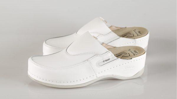Batz FC10 – ženske klompe bijele boje – VV obuća trgovina - par klompi
