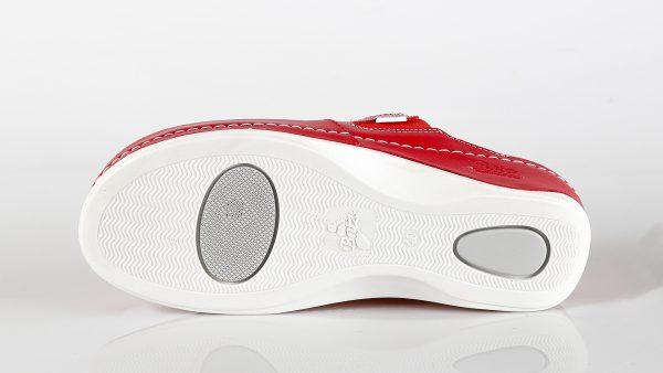 Batz FC10 – ženske klompe crvene boje - džon