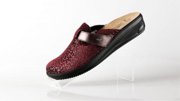Batz IVETT – ženske papuče bordo boje – VV obuća trgovina