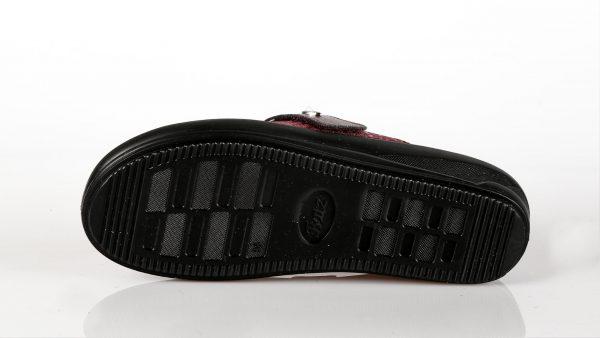 Batz IVETT – ženske papuče bordo boje – VV obuća trgovina - džon