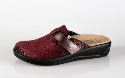 Ženska papuča IVETT Batz Bordo