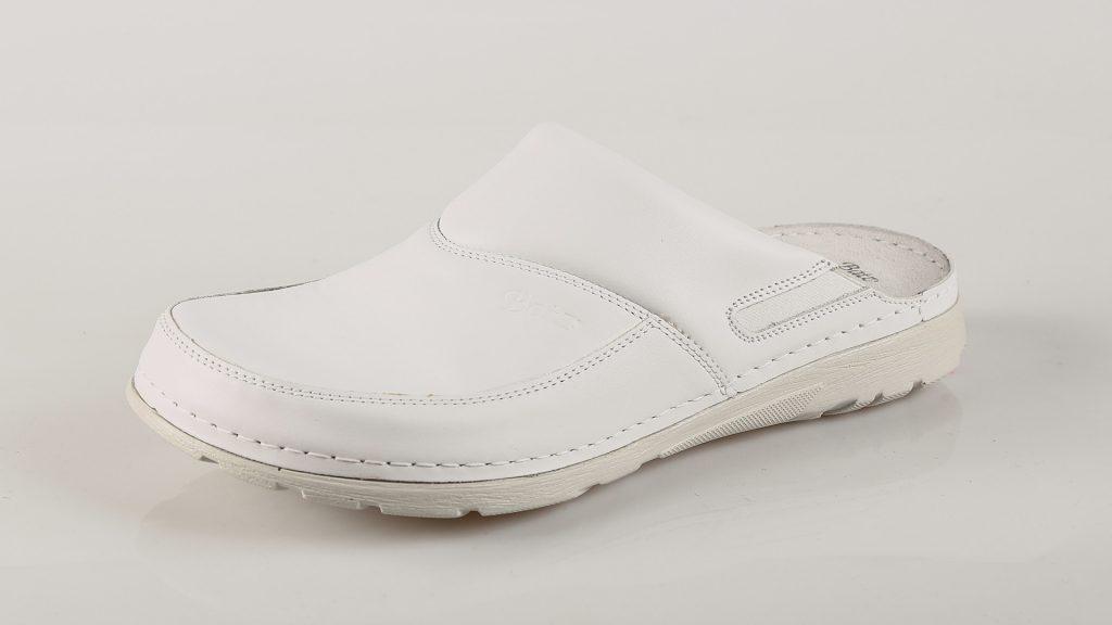 Batz PETER – muške klompe bijele boje – VV obuća trgovina - bočno