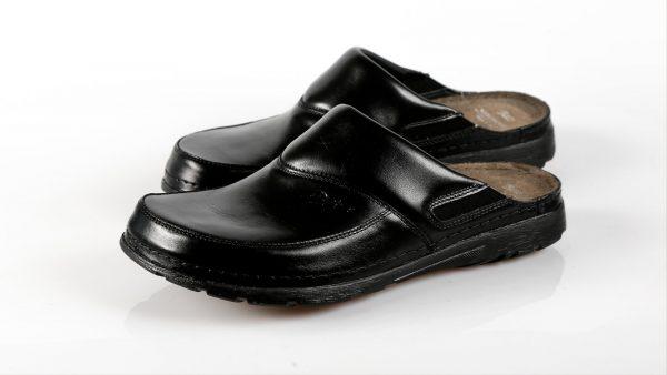 Batz PETER – muške klompe crne boje – VV obuća trgovina