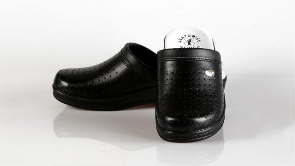 Fratelli Babb D03 – ženske klompa crne boje – VV obuća…