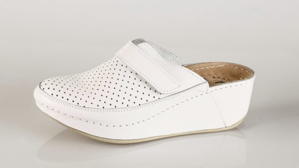 Fratelli Babb D130 – bijela ženska klompa – VV obuća …