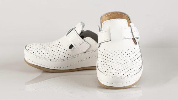 Fratelli Babb D134 – bijela ženska klompa – VV obuća …