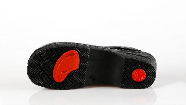 Fratelli Babb D23 – crna ženska klompa – VV obuća trg…