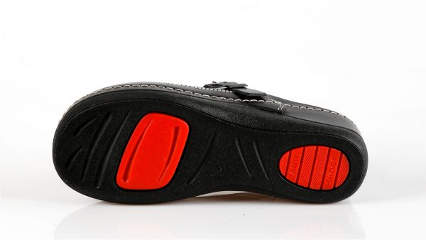 Fratelli Babb D300 – crna ženska klompa – VV obuća tr…
