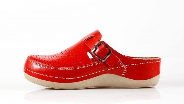 Fratelli Babb D300 – crvena ženska klompa – VV obuća …