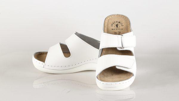 Fratelli Babb D303 – bijela ženska natikača – VV obu…