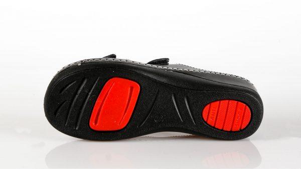 Fratelli Babb D303 – crna ženska natikača – VV obuća…