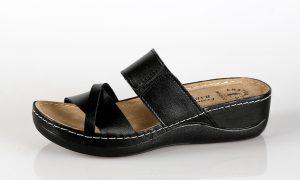 Fratelli Babb D304 – crna ženska natikača – VV obuća…