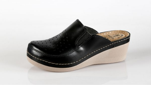 Fratelli Babb D310 – crna ženska klompa – VV obuća tr…