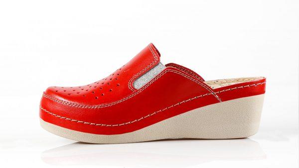 Fratelli Babb D310 – crvena ženska klompa – VV obuća …