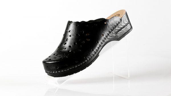 Fratelli Babb D43 – crna ženska klompa – VV obuća trg…