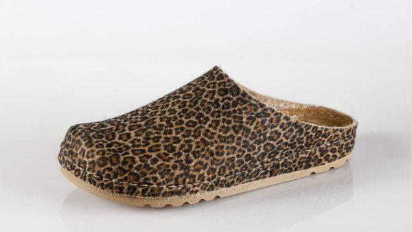 Fratelli Babb W1 – smeđa leopard papuča – VV obuća t…