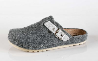 Ženska papuča W3 Fratelli Babb Siva