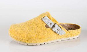 Fratelli Babb W3 – žuta ženska papuča – VV obuća t…