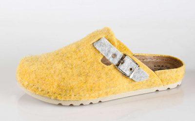 Ženska papuča W3 Fratelli Babb Žuta