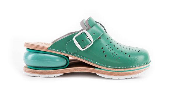 Ženska zračna klompa A01 Biancomolina Zelena– VV obuća