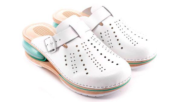 Ženska zračna klompa A01 Biancomolina Bijela – VV obuća