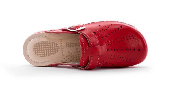 Ženska zračna klompa A01 Biancomolina Crvena