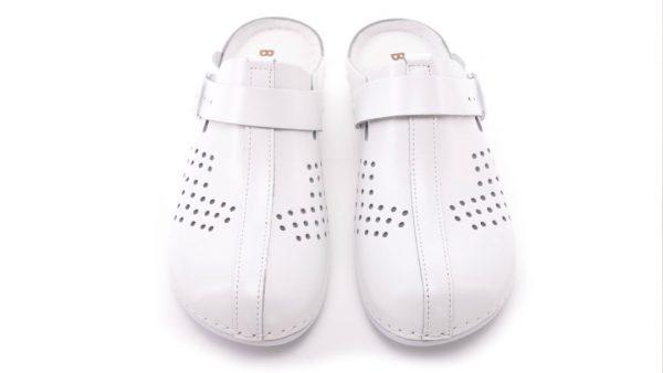 Ženska Free-step klompa PU03 Biancomolina Bijela – VV obu…